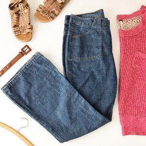 Levis Wide Leg Flare Jeans Retro 70s Style B495